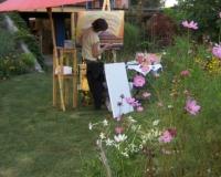 buntes-malen-im-garten-atelier-boeckten