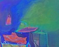 wenn-es-nacht-wird-40-x-70-cm-mischtechnik-2011